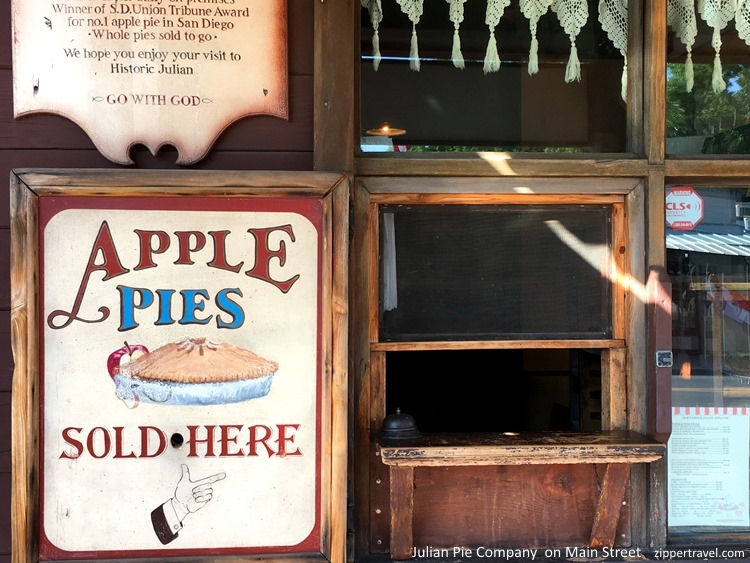 Julian California: As American as Apple Pie - ZIPPERTRAVEL